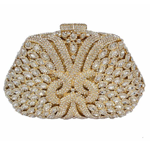 Luxury Crystal Evning Bags Studded Diamond Party Sac Pochette Women Wedding  Purse Ladies Wedding Clutch 8 https b0aedde6dcf8