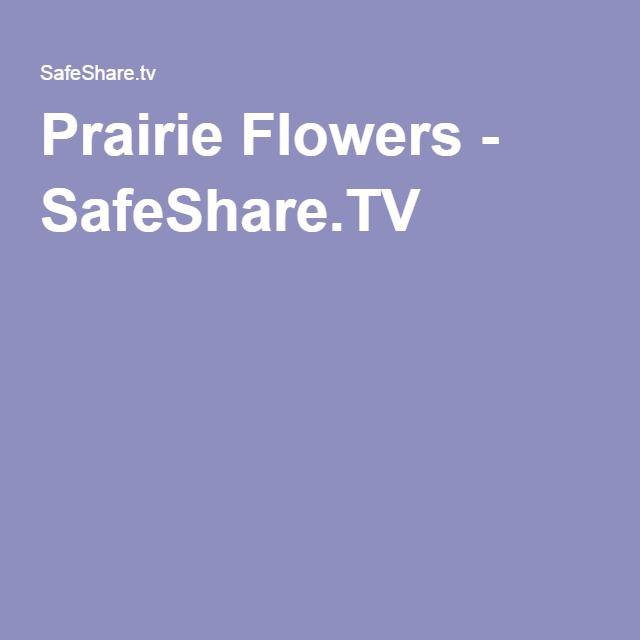 Prairie Flowers - SafeShare.TV
