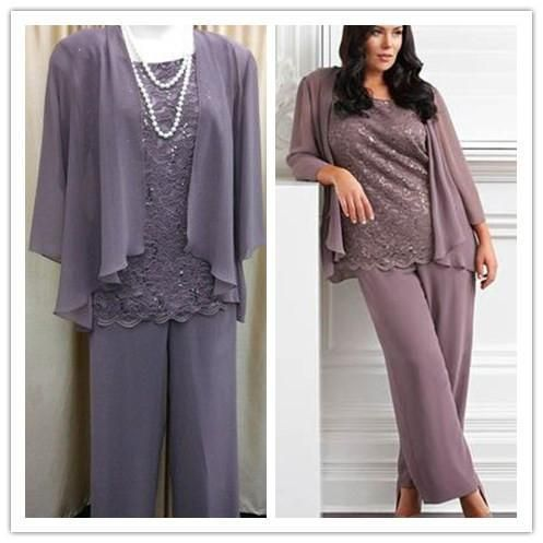 Mother Of The Groom Pant Suits Plus Size