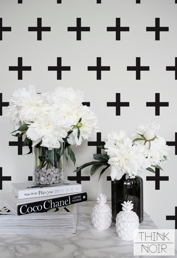 ThinkNoir Wallpaper are ready to make any room unique and trendy! Our removable wallpaper and murals are easy way ...