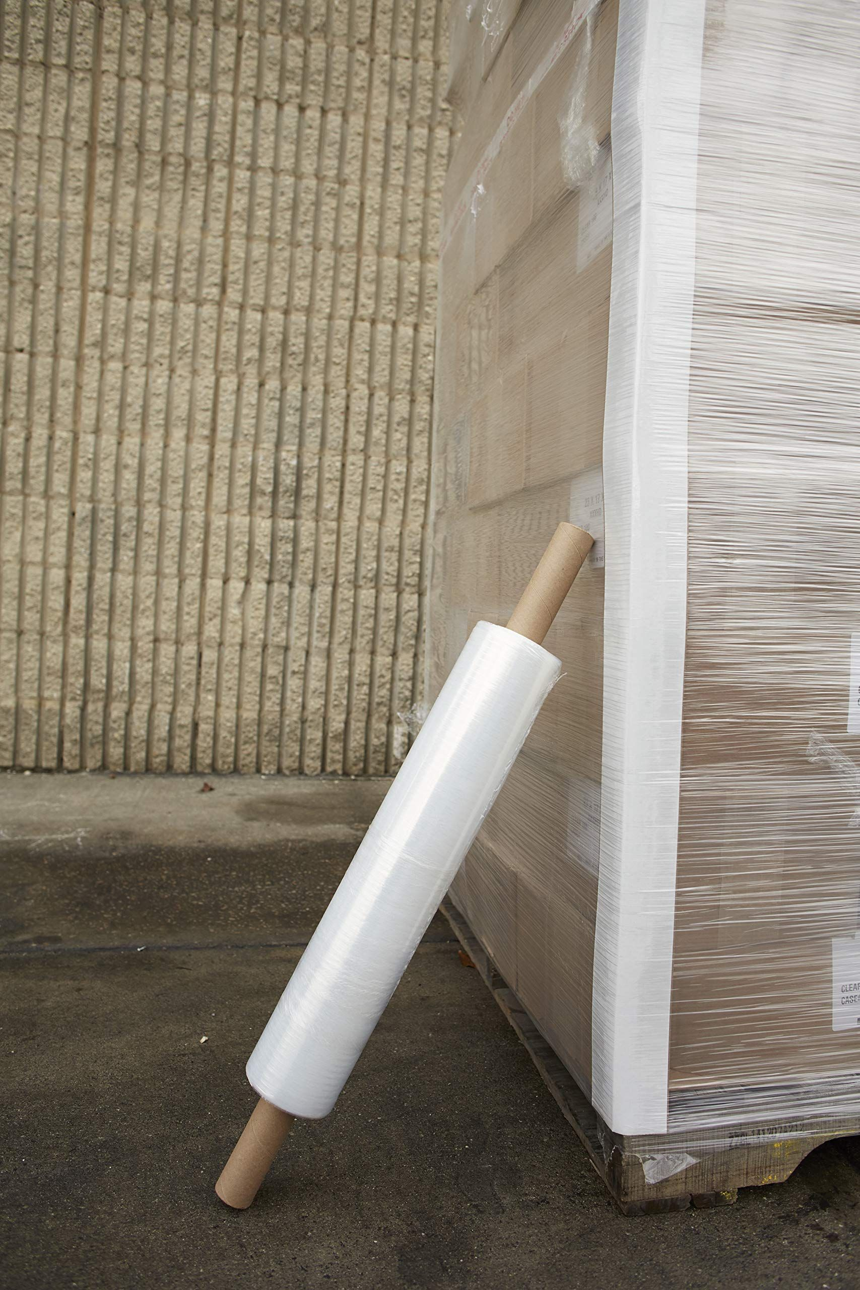 20 Inches X 1000 Feet Roll Thick 80 Gauge Plastic Film Shrink