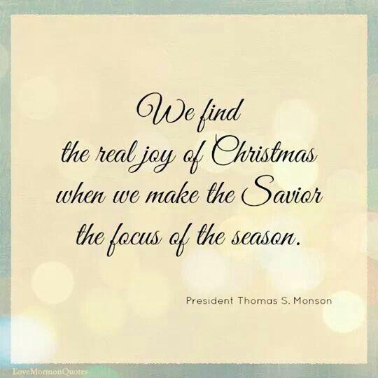 Christmas Quote  Joy Of The Season