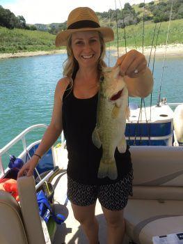 Southern California Bass Fishing Guide Service - Lake Casitas 04/18