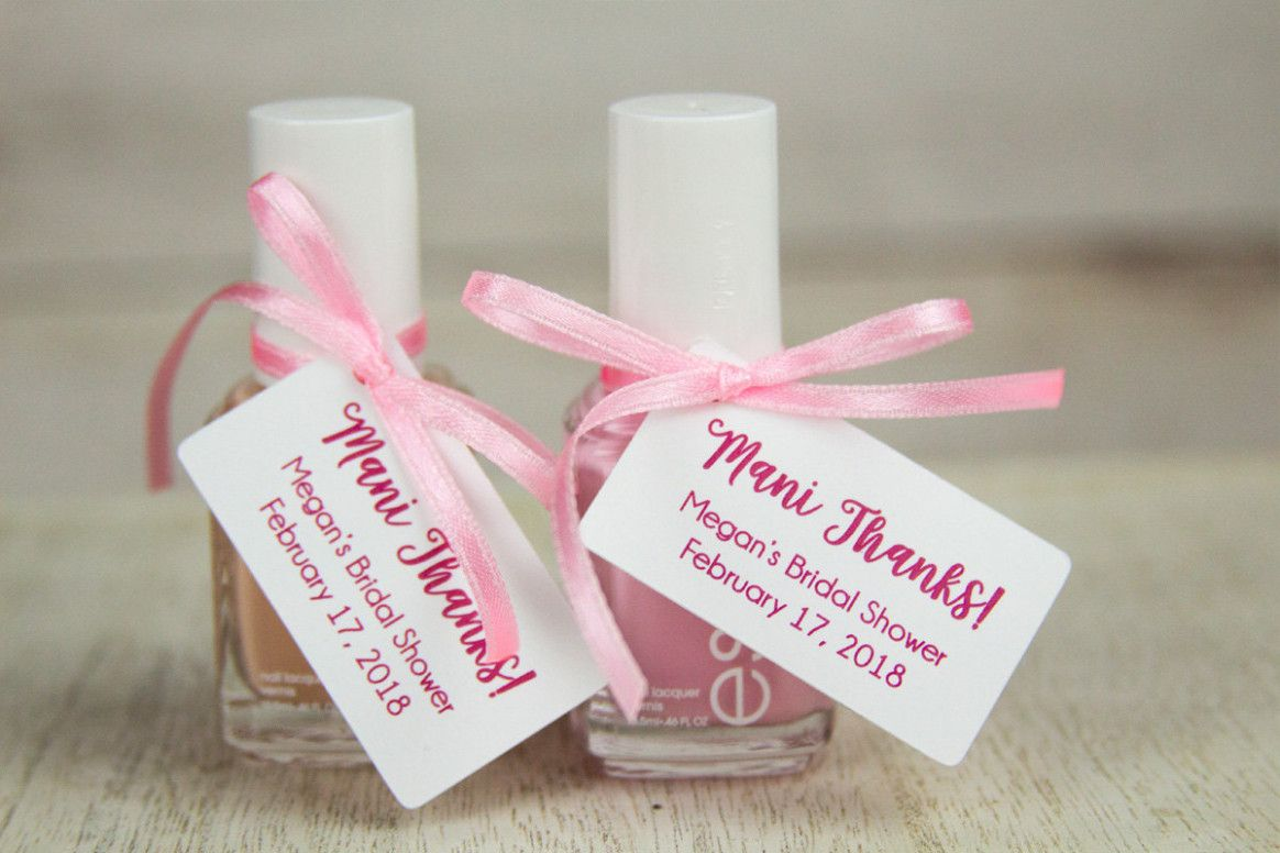 Wedding Nails Guest Party Favors Baby shower thank you
