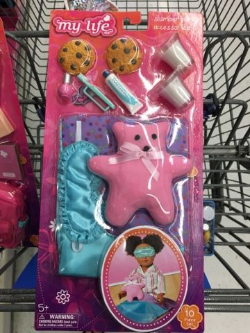Hi Doll Friends! I went to a different Walmart today. I live in rural area and we have two cities to choose from when we go to town and toda... #dollaccessories
