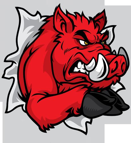 Gallery For Razorback Logo Png Razorback Painting Razorbacks Arkansas Razorbacks Football