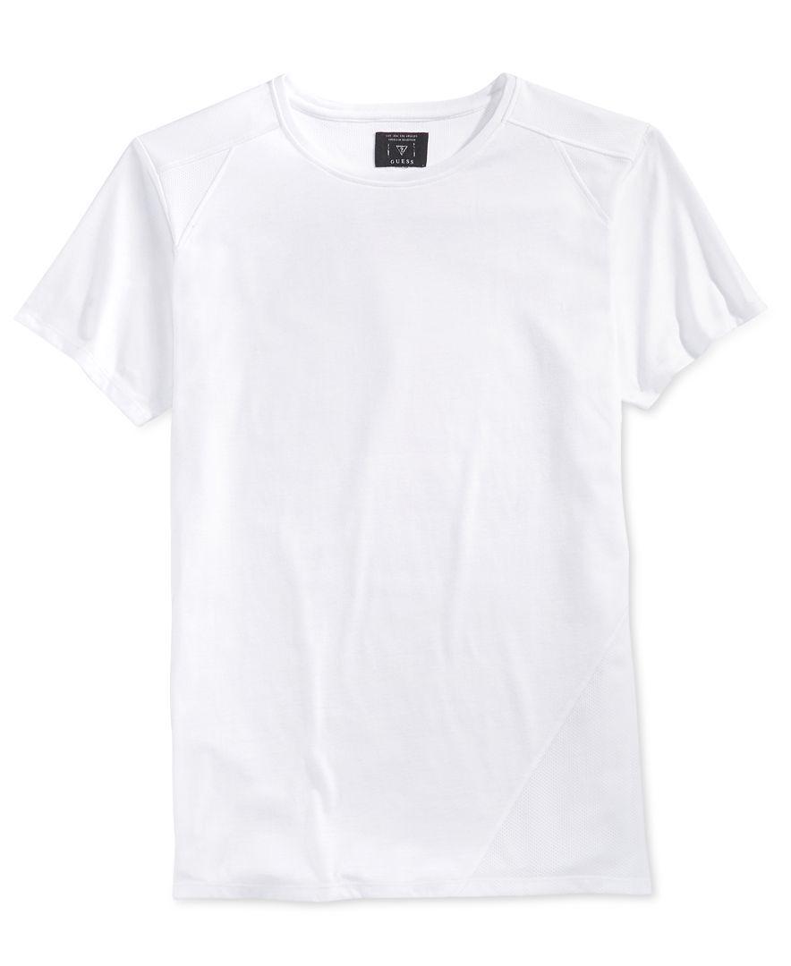 9c2fff68e76a Guess Men s Mason Jordan Mesh Longline T-Shirt