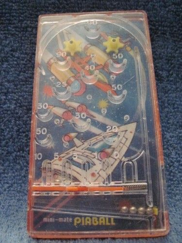 Vintage Mini Mate Space Pinball Bluebox 1970's Toy Spaceships | eBay
