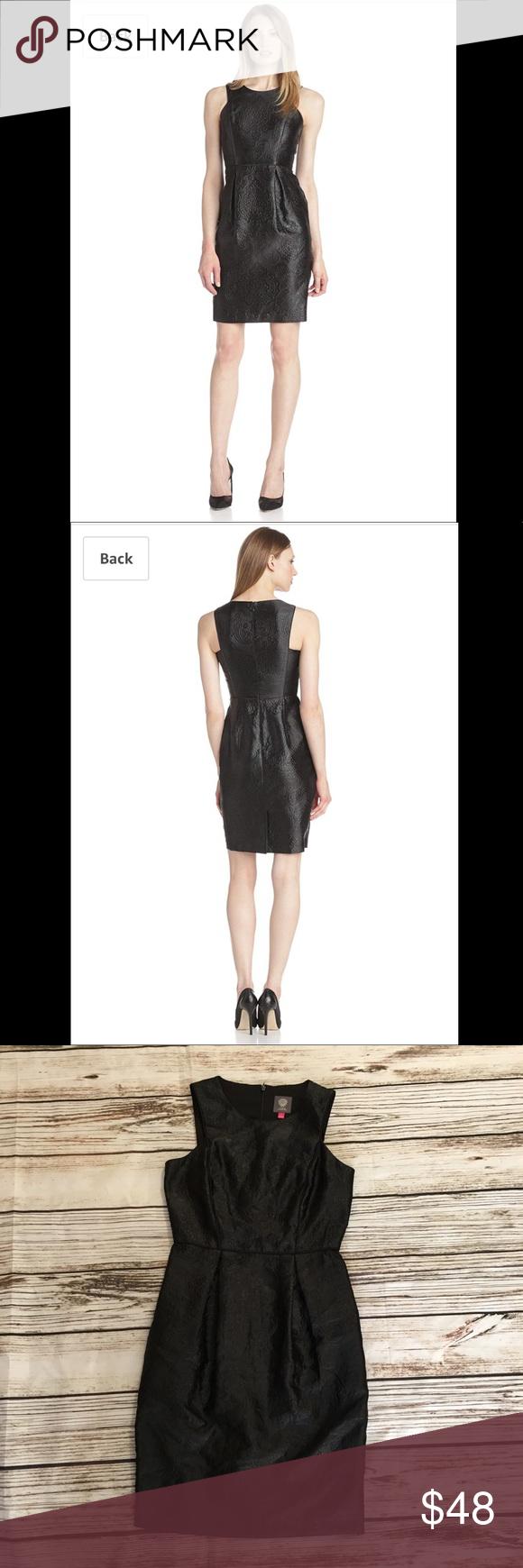 Vince Camuto Little Black Dress Little Black Dress Fashion Clothes Design [ 1740 x 580 Pixel ]