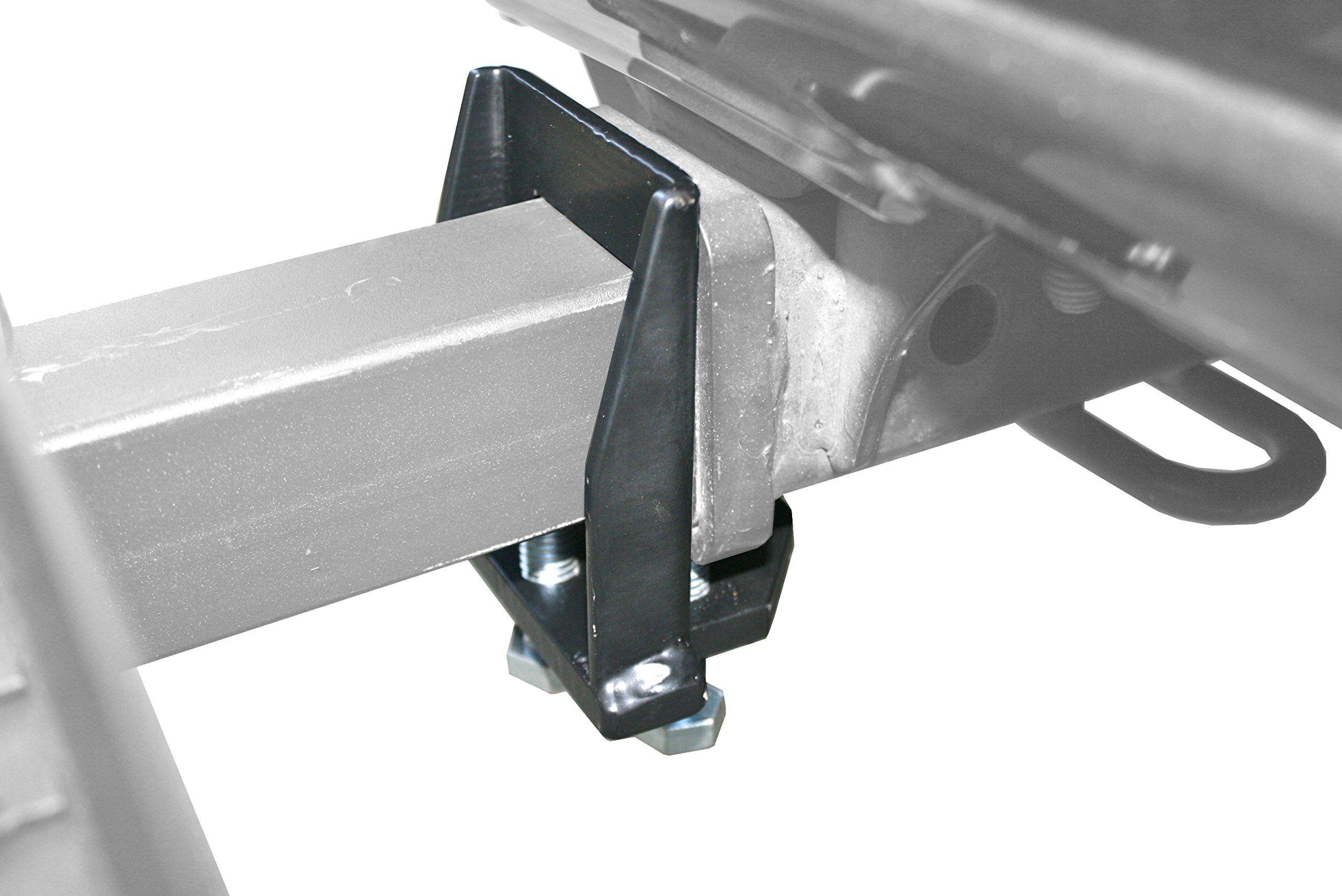 "Free Shipping MaxxHaul 70283 4-Bolt Sturdy Anti-Wobble 2/""x 2/"" Hitch Adapter S.."