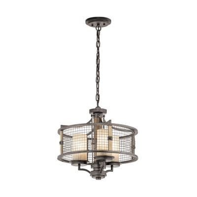 Shop kichler lighting ahrendale 3 light large pendant light at lowes canada find our selection of pendant lights at the lowest price guaranteed with price