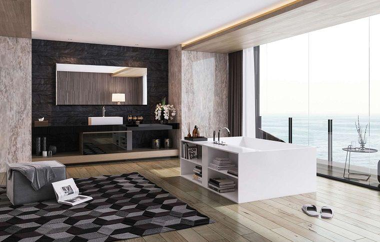 bano lujoso moderno masculino diseno ideas Interiores para baños - baos lujosos