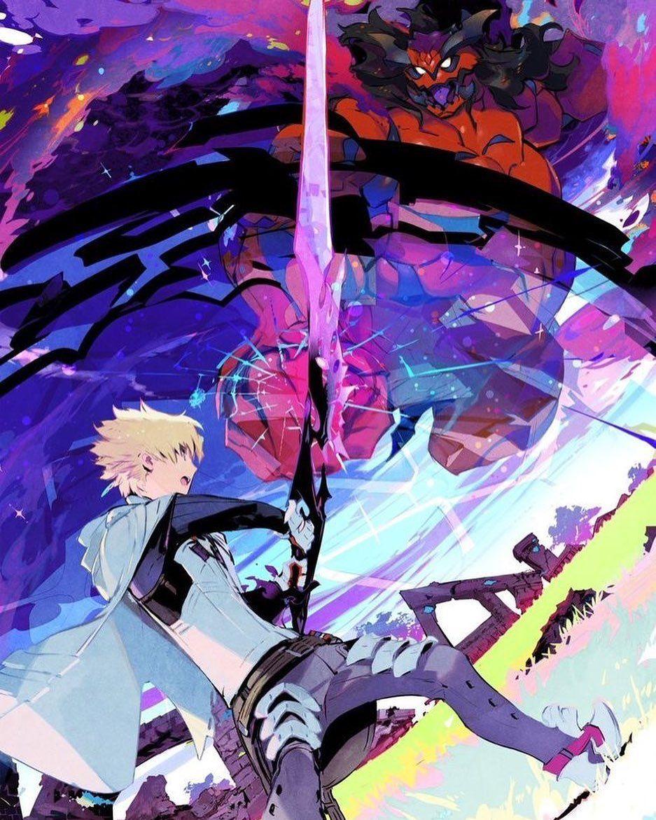 Anime : Infinite Dendrogram . . . #Anime #Otaku #ReijiMukudori #Nemesis  #ShuStarling #RookHolmes #Babylon #Cyco #MarieAdler … | Chiến binh, Hình  nền, Nghệ thuật