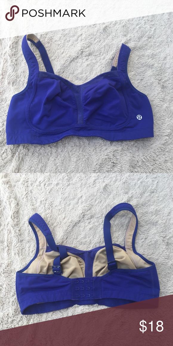 a007af9b18 Lululemon sports bra Tata tamer Lululemon sports bra in purple. Does not  include pads. Great support. lululemon athletica Intimates   Sleepwear Bras