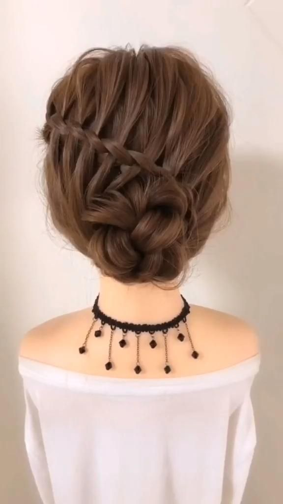 Photo of Easy DIY Long Wedding Prom Updo Hairstyle Tutorial