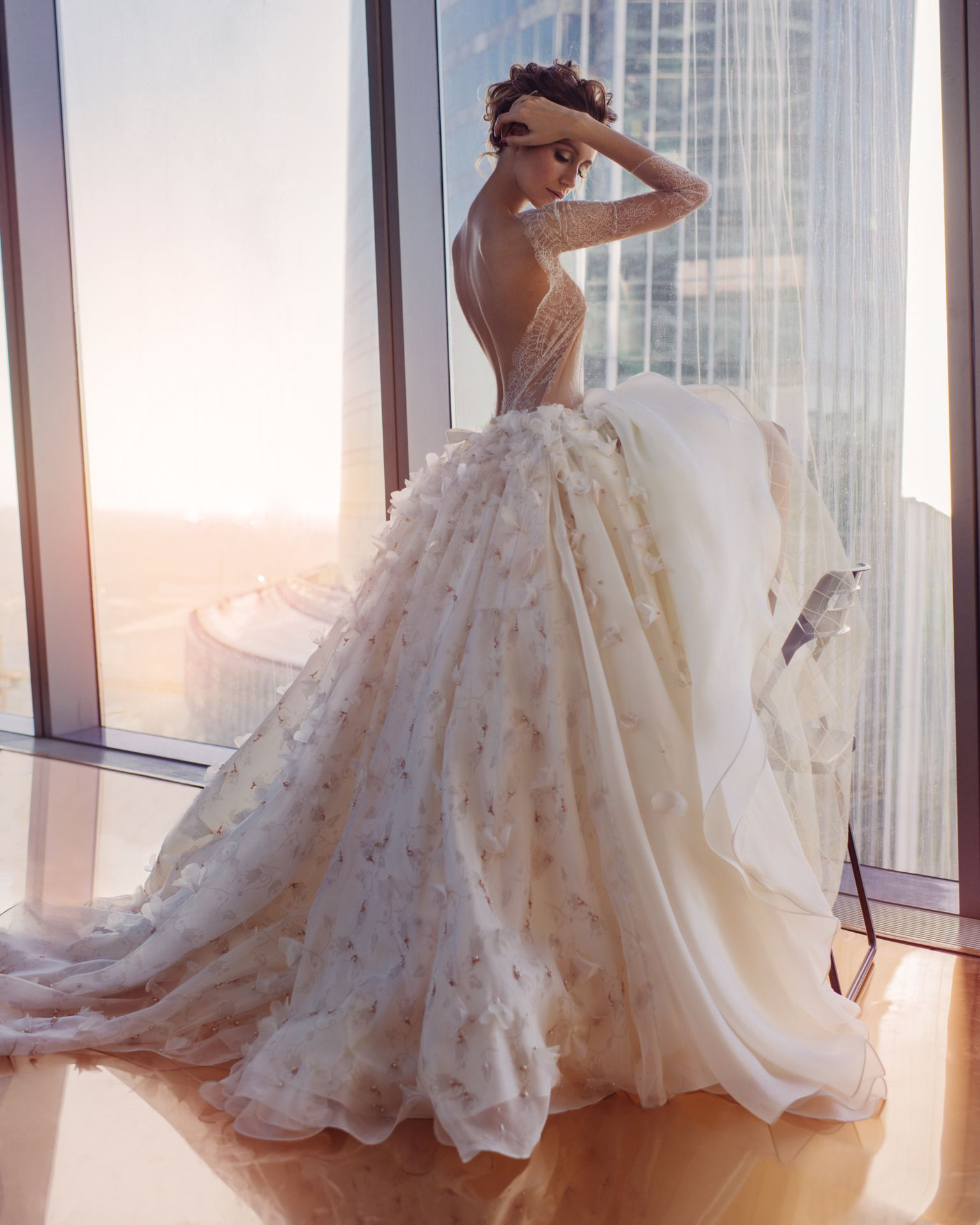 Kate\\'s Official #wedding #gown modelled by Nataly Osmann | WHEN IN ...