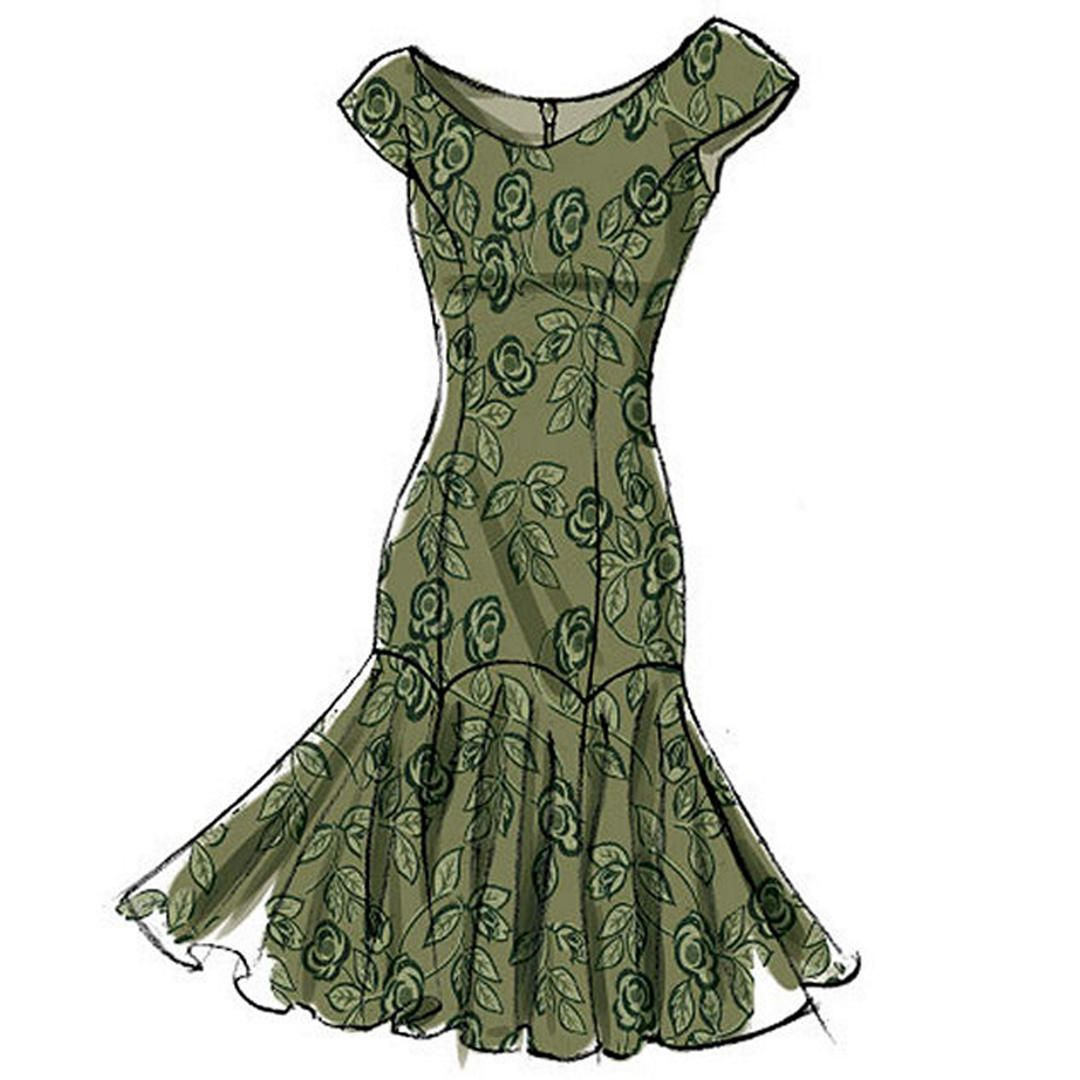 Vogue Womens Dresses Sewing Pattern, 8948