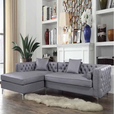 Chic Home Mozart Velvet Sectional At Jcpenney Today And Enjoy Great Savings