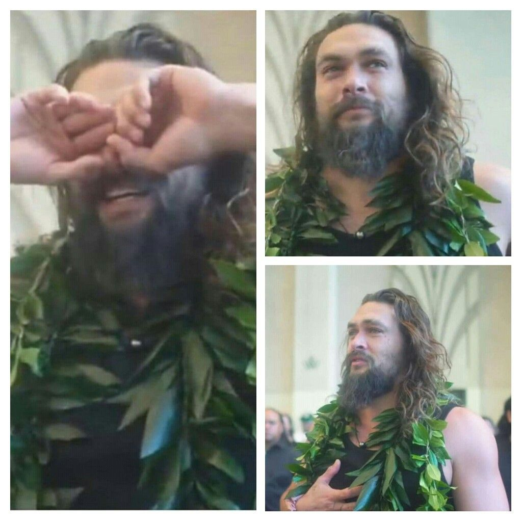 Jason Mamoa Emotional Hawaii Premiere Of Aquaman