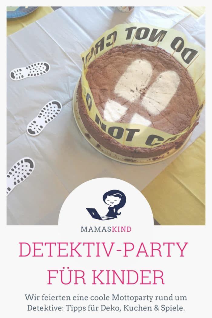 Photo of Detektiv-Party zum Kindergeburtstag: Deko, Kuchen & Spiele | Mamaskind