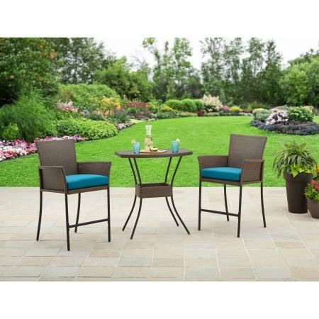 3 Piece Balcony Height Patio Set   Google Search