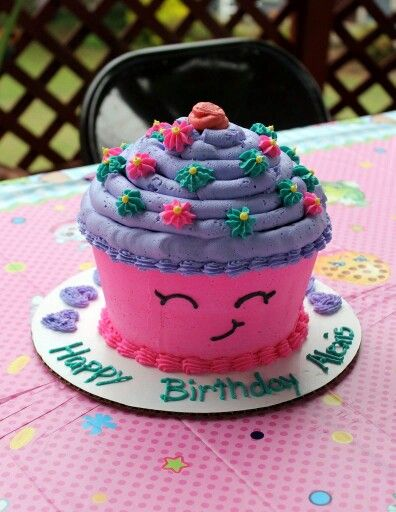 Shopkins Cupcake Cake Shopkins Cupcake Cake Shopkins Cake Cupcake Birthday Cake