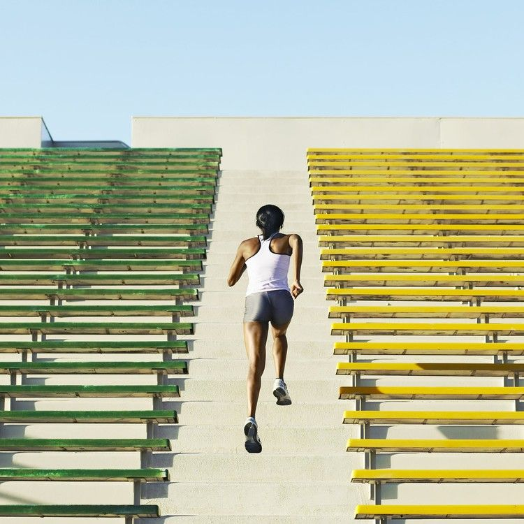 Here's How to Run Stairs, the Simple Cardio and Leg