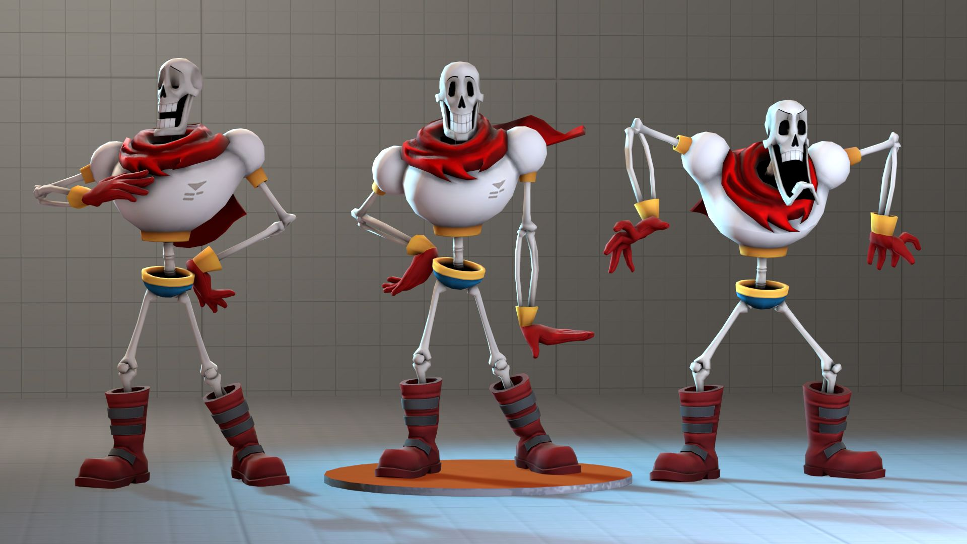 Papyrus Model for SFM by Py-Bun deviantart com on