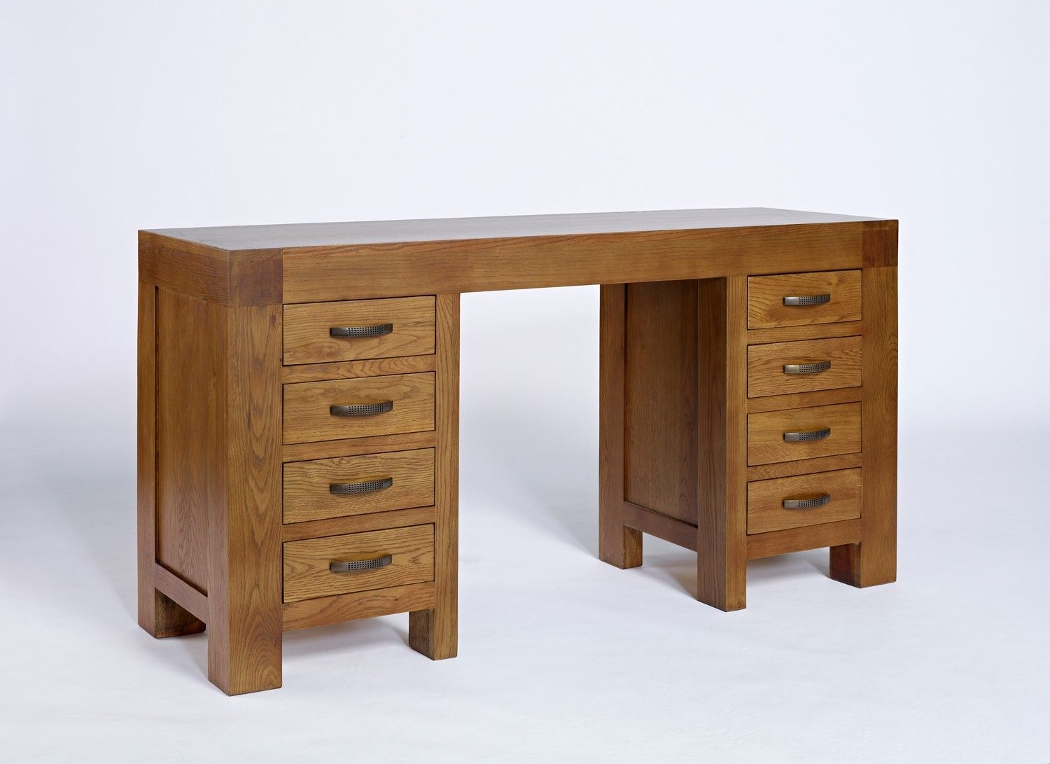 Fantastic furniture hallway table  Santana Rustic Oak DeskDressing Table  AMETIS  BY COLLECTION