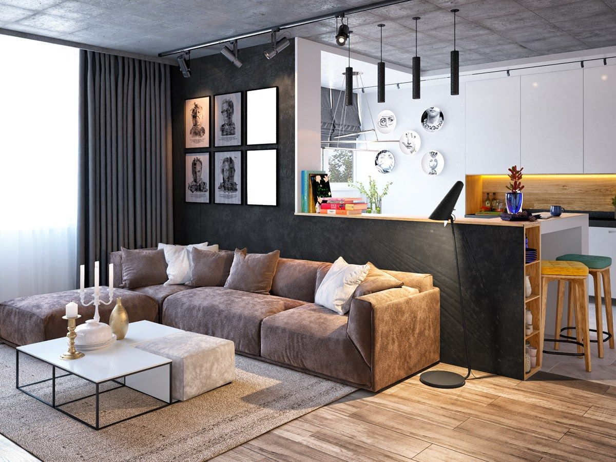 3 Inspiring Homes With Concrete Ceilings and Wood Floors ...