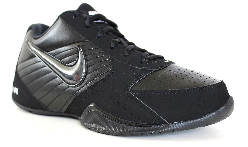 fe15872197eb Nike Men s Air Baseline Low Basketball Shoes 386240 001 Black White  Nike   BasketballShoes