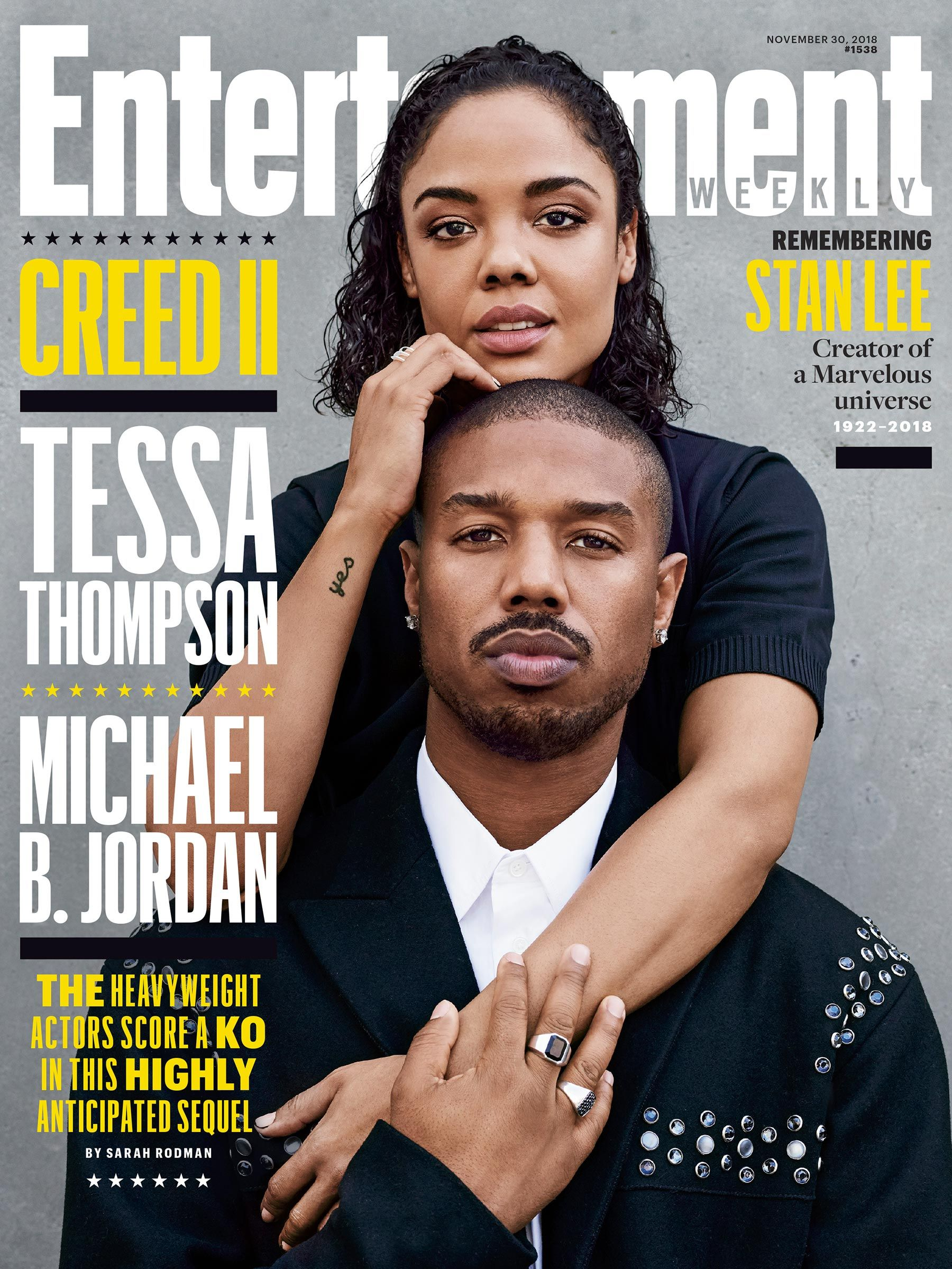 b025c9290e0b Michael B. Jordan and Tessa Thompson still have perfect chemistry as they  step back into the ring for  em Creed II  em