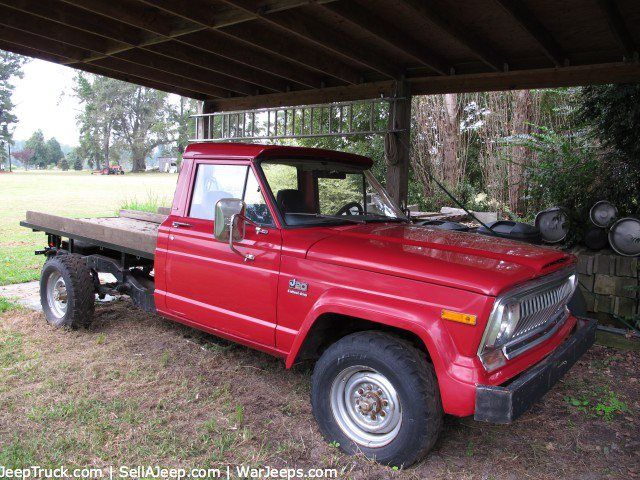 1975 J20 Jeep Former Fire Truck Just Listed For Sale On Jeeptruck