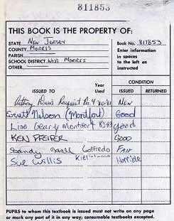 school text books
