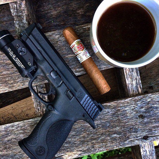 cigars-and-guns:  by @gentlemantactical #cigarsandguns #cigars #guns #puffpuffpewpew