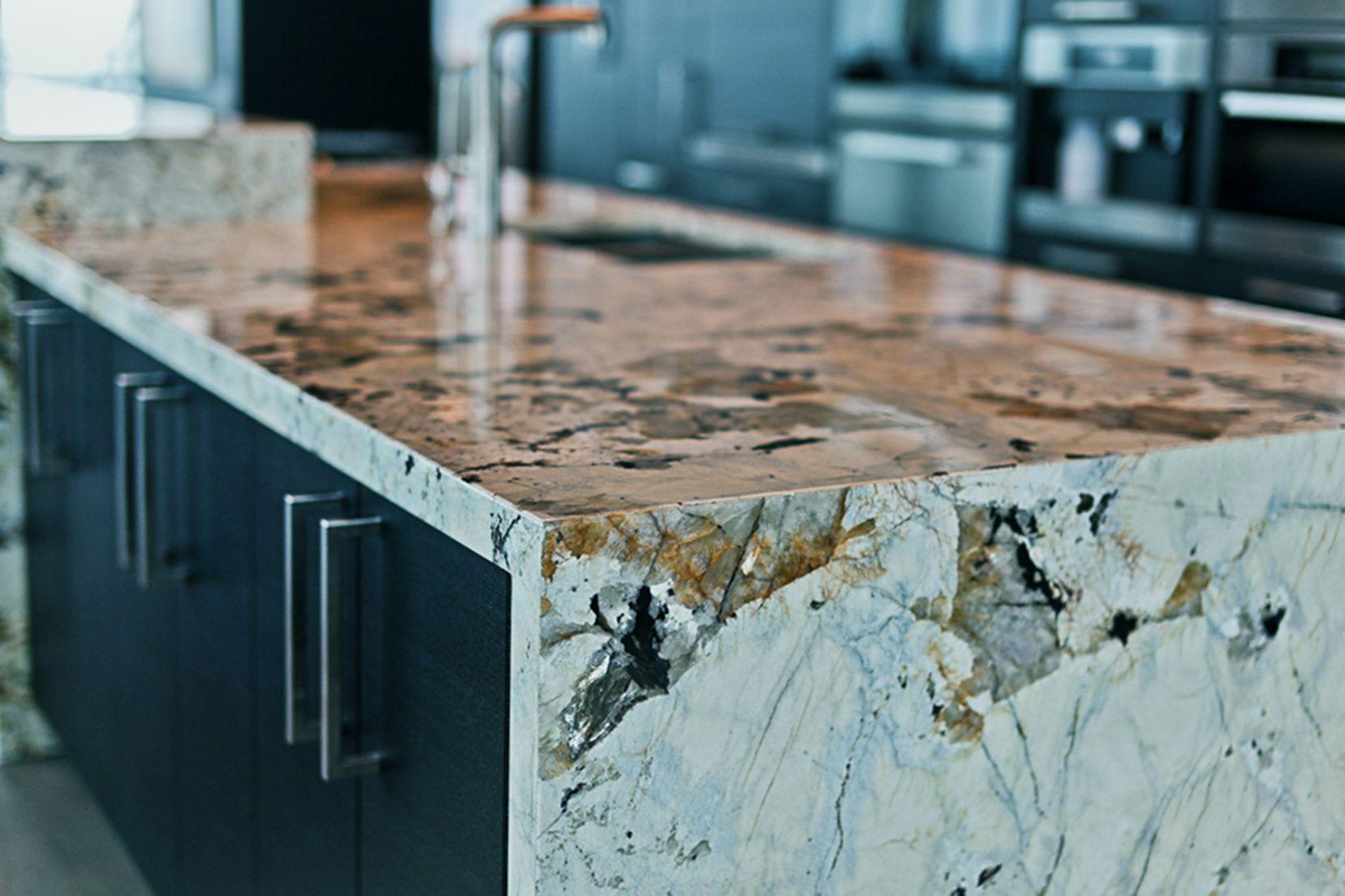50+ Exotic Granite Countertops - Kitchen Shelf Display Ideas Check ...