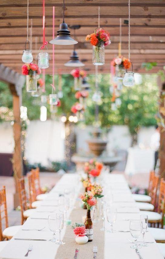 Wedding reception idea; Leila Brewster Photography