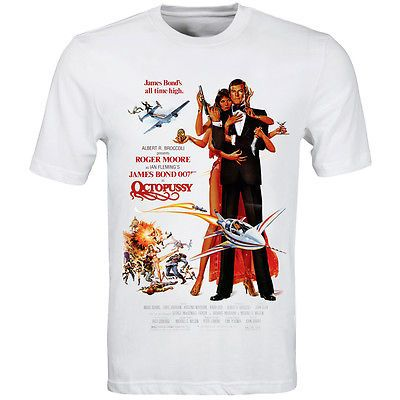 James bond 007 #octopussy #movie #poster t shirt s-3xl - retro high quality print,  View more on the LINK: http://www.zeppy.io/product/gb/2/191383988703/