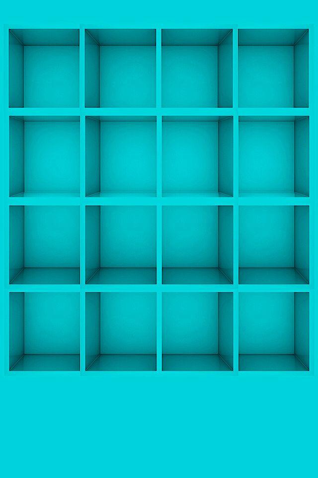 turquoise shelf Turquoise my Apps Shelf iPhone 4
