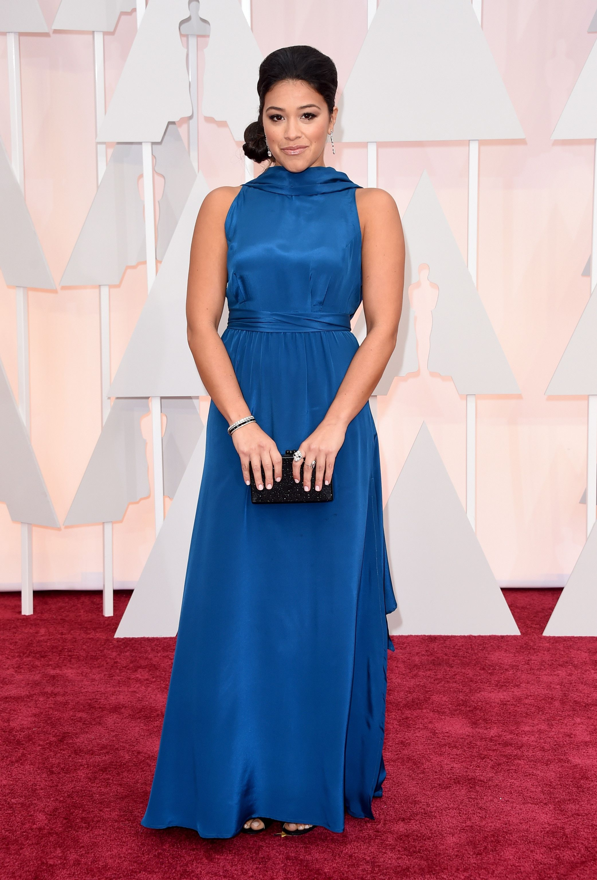 Porn Star Gina Rodriguez Complete the surprising trend gina rodriguez rocked to the oscars   gina