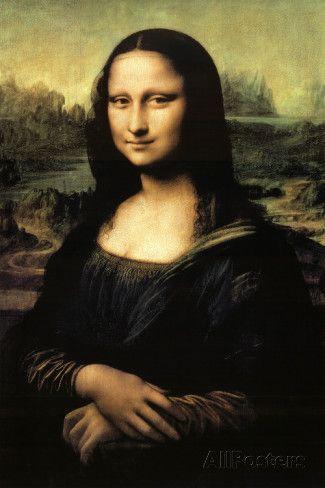 Leonardo da Vinci: Mona Lisa Posters by Leonardo da Vinci at AllPosters.com