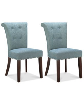 Farah Set Of 2 Dining Chairs Direct Ship