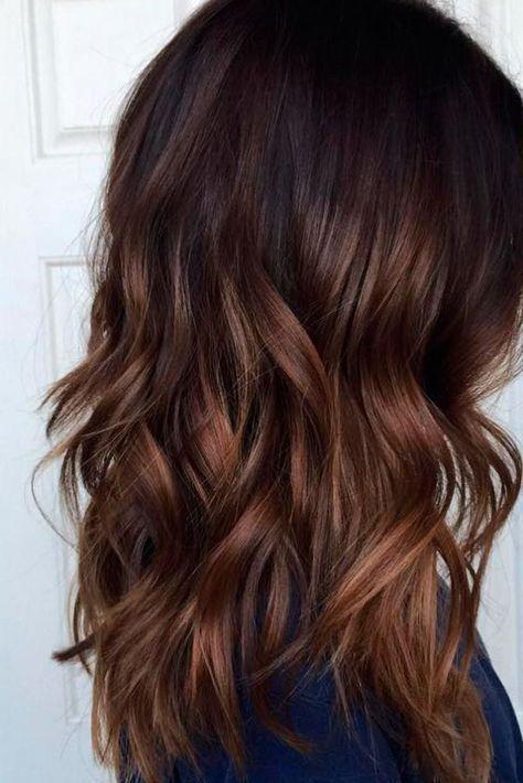 nouvelle tendance coiffures pour femme 2017 2018 les cheveux ombre bruns sont tous rage cette. Black Bedroom Furniture Sets. Home Design Ideas