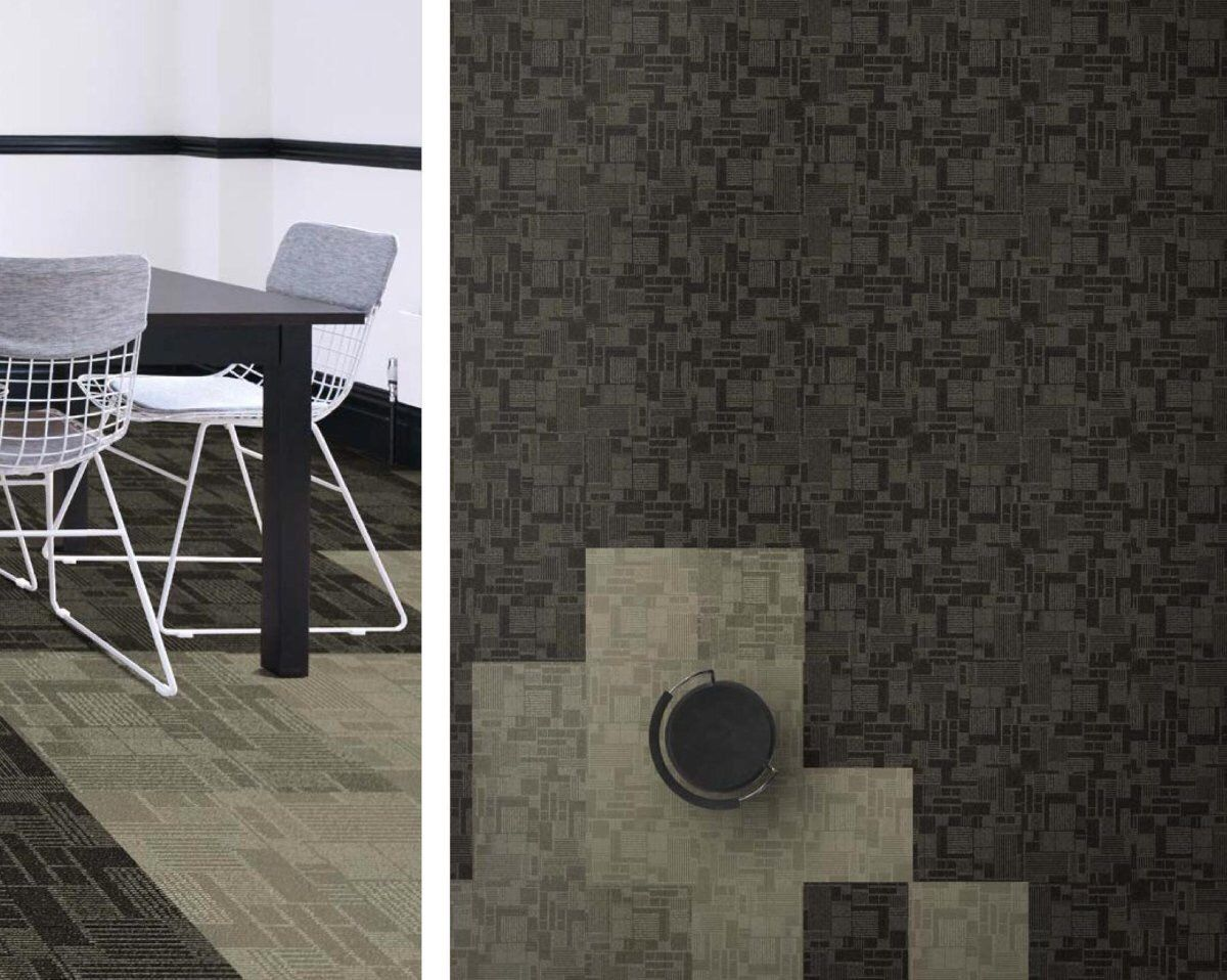 Ef Contract S Checkmates 24 X 24 Carpet Tile Flooring