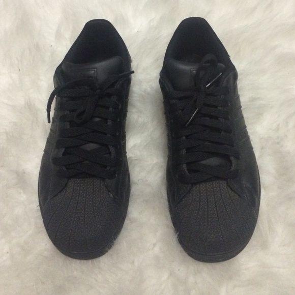 black adidas superstar, Adidas shell tops