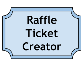 make your own raffle tickets free
