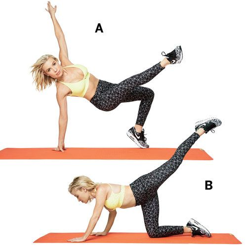5 Exercises to Work Off Your Waist