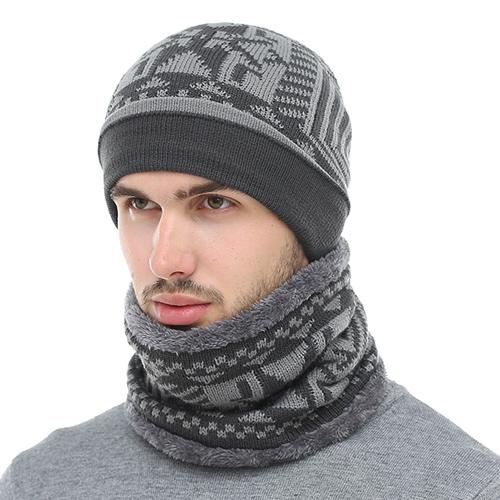 8c9cfe2cffb 2018 Skullies Beanies Winter Knitted Hat Beanie Scarf Men Winter Hats For  Men Women Caps Gorras Bonnet Mask Brand Hats
