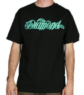Diamond Supply Co-Giant Script Tee Black http://www.defyboardshop.com/Shop/pc/Diamond-Supply-Co-Giant-Script-Tee-Black-530p72022.htm