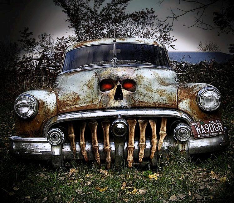 Yes dear, this is a...Rat Rod